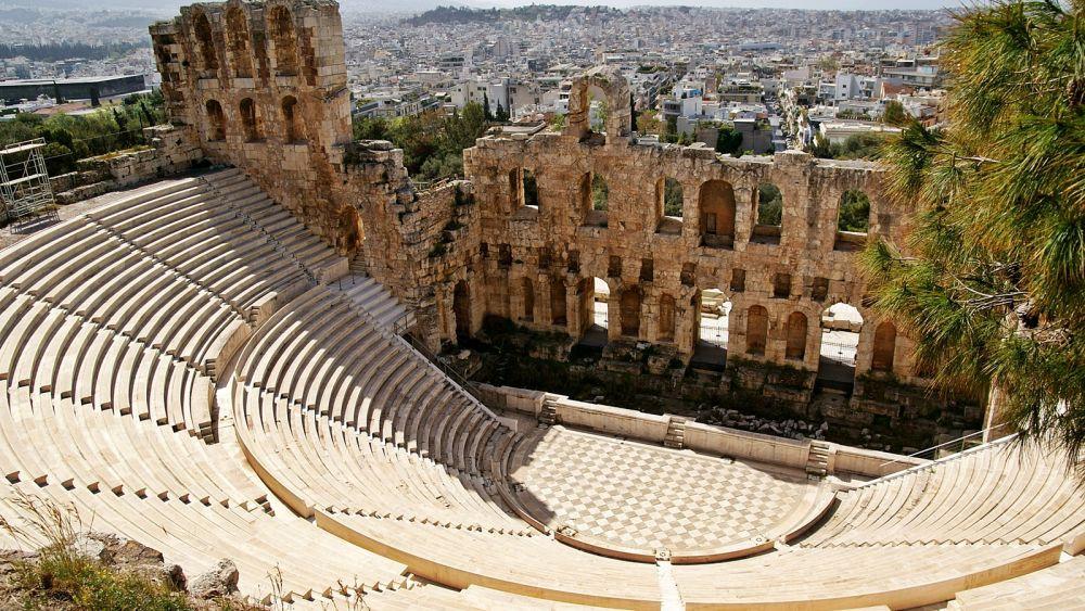 Афины - город богов